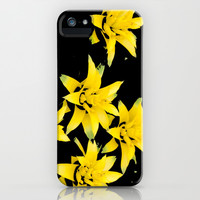 Tropical Flowers iPhone & iPod Case by lush tart
