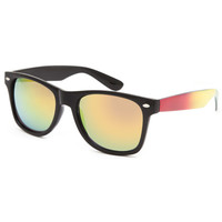 Blue Crown Rasta Sunglasses Multi One Size For Men 26082495701