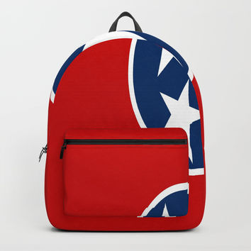 flag of Tennessee-south, america, usa,Tennessean, Volunteer State,memphis,Nashville,jackson,jazz Backpacks by oldking