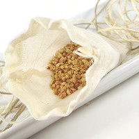 Citrus Grove scented Potpourri Sachet 3x5 Muslin Bag -- Home/Car Fragrance