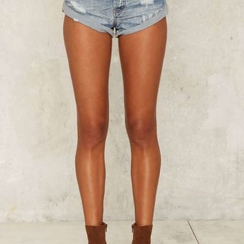 One Teaspoon Bandit Cutoff Shorts - Aztec Santa Cruz