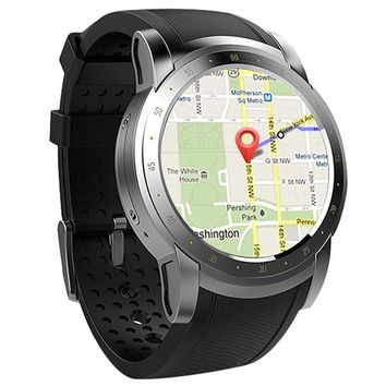 Brisk 3G WIFI GPS Bluetooth Smart Watch Heart Rate Monitor Sim Card Smartwatch for Android IOS Phone Wearable Devices For Men by Ritzy