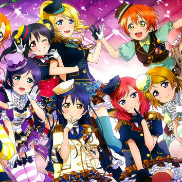 Love Live School Anime Poster