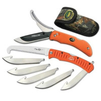 Razor-Pro Knife and Saw Combo -- Orange