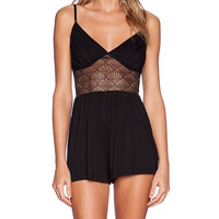 Only Hearts Venice Playsuit in Black