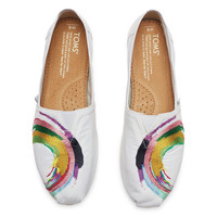 WHITE SATIN EMBROIDERY WOMEN'S CLASSICS