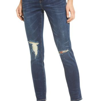 3a62fb29a7 BLANKNYC Ripped Ankle Skinny Jeans (Fresh Brew) | Nordstrom