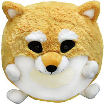 Squishable Tan Shiba Inu: An Adorable Fuzzy Plush to Snurfle and Squeeze!