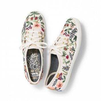 Embroidered Herb Garden Champion Sneaker