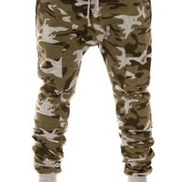 American Stitch Men's Harem Sweatpants Extra Large Multi