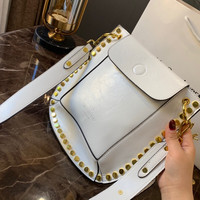 Valentino Rivet Leather Crossbody