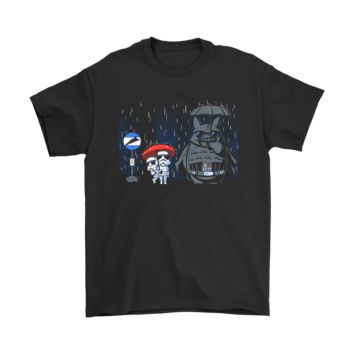 DCKG6Q My Neighbor Totoro Darth Vader Storm Trooper Star Wars Shirts