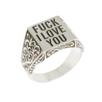 Herman 'FUCK I LOVE YOU' ring