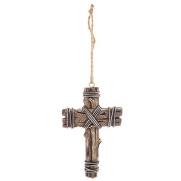 Barbed Wire Cross Ornament | Hobby Lobby | 5203708
