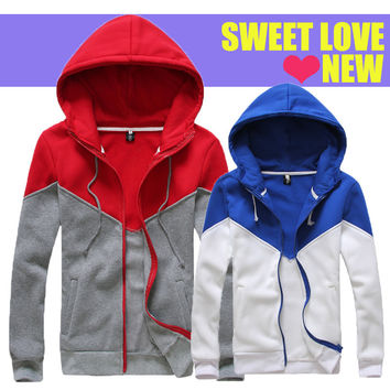 Couple Hoodies Mosaic Men Hats Jacket [6528747011]