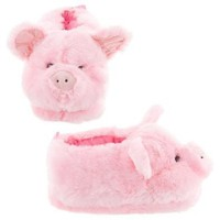 Pink Pig Animal Slippers for Women and Men