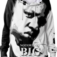 Notorious BIG Hoodie created by ARTIST CL | Print All Over Me