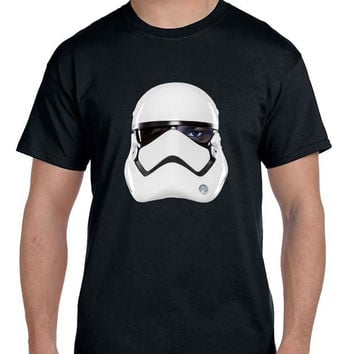 Star Wars The Force Awakens Fin As Stormtrooper  Mens T Shirt