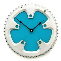 Bicycle Wall Clock - Turquoise