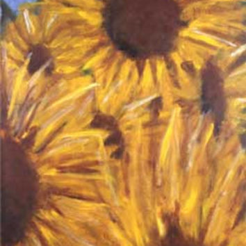 Morning Sunflowers by Kira Pierce Fine Art Print