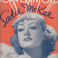 All I Do Is Dream of You 1934 Sheet Music Joan Crawford in Sadie McKee