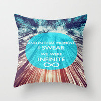 Perks of Being a Wallflower Throw Pillow by Sjaefashion | Society6