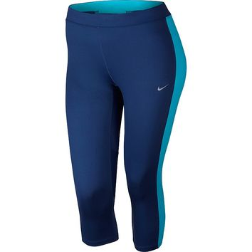 Nike Dri-FIT Essential Crop Running Tights - Women's Plus Size, Size: