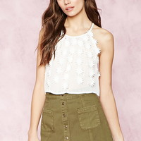 Buttoned Denim Skirt | Forever 21 - 2000151570