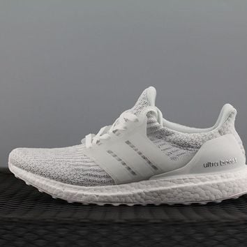 Adidas Boost UB 3.5 BA8841 Women Men Fashion Trending Running Sneakers White