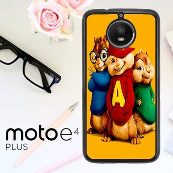 Alvin And The Chipmunks Character V 2074 Motorola Moto E4 Plus Case