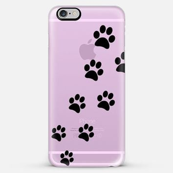 Cats Paws Pink - Transparent iPhone 6 Plus case by Nicklas Gustafsson | Casetify