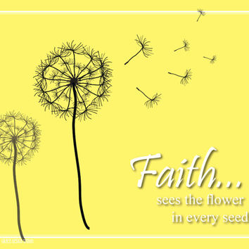 Inspirational Art - Faith - Print - Ready to Frame
