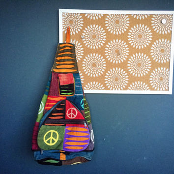 Handmade Funky Backpack/Rucksack - Hippie Bag - Boho Backpack - Fall Celebrations Gift Ideas For Her