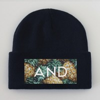 ANDCLOTHING — PINEANDAPPLE Beanie  NEW