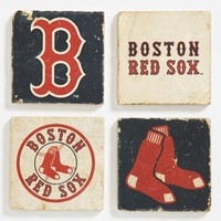 'Boston Red Sox' Marble Coasters (Set of 4)