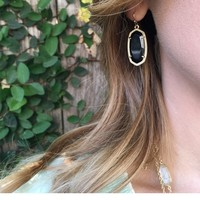 Dani Gold Earrings in Slate - Kendra Scott Jewelry