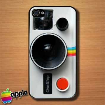 Vintage Polaroid Camera One Step Custom iPhone 4 or 4S Case Cover