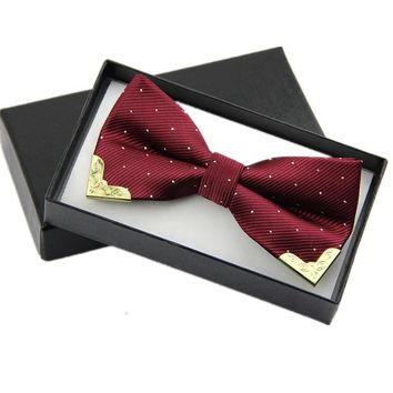 Fashion Men Bow Tie Fake Collar Women Silk Tie Butterfly Adjustable Bowtie Halloween Wedding Bow