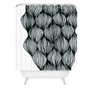 Gabi Waves Shower Curtain