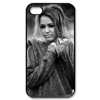 Miley Cyrus iPhone 4 4S Case Hard Back Cover Case for Apple iPhone 4 4S