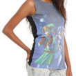 Nintendo The Legend Of Zelda: Ocarina Of Time 3D Harmonious Song Girls Tank Top