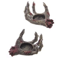 Zombie Hand Candle Holders