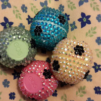 Decorative EOS Lip Balm Flower Pattern