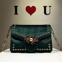 Perfect Gucci Women Fashion Leather Satchel Shoulder Bag Handbag Crossbody