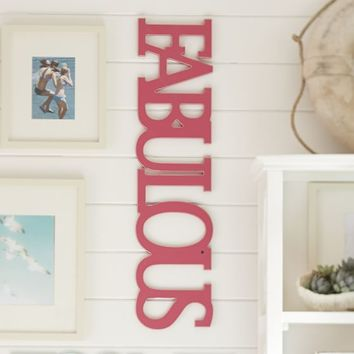 Wooden Words - Fabulous