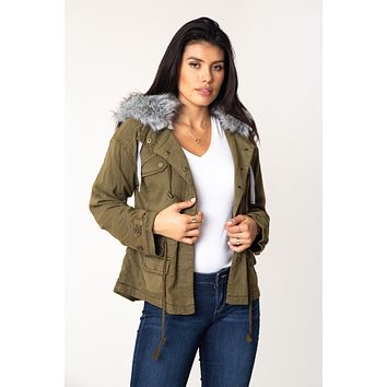 Marana Faux Fur Jacket