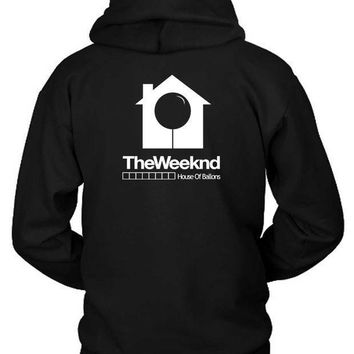 The Weeknd House Of Ballons Hoodie Two Sided