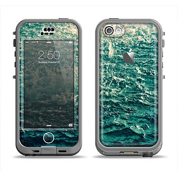 The Rough Water Apple iPhone 5c LifeProof Nuud Case Skin Set