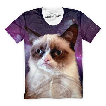 Grumpy Cat Is Done With Earth T-Shirt