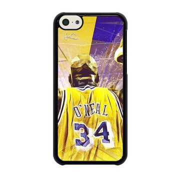 SHAQUILLE O'NEAL LA LAKERS iPhone 5C Case Cover